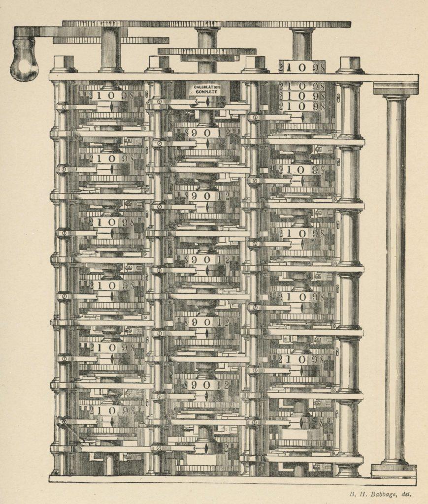 Babbage's 1833 engine.