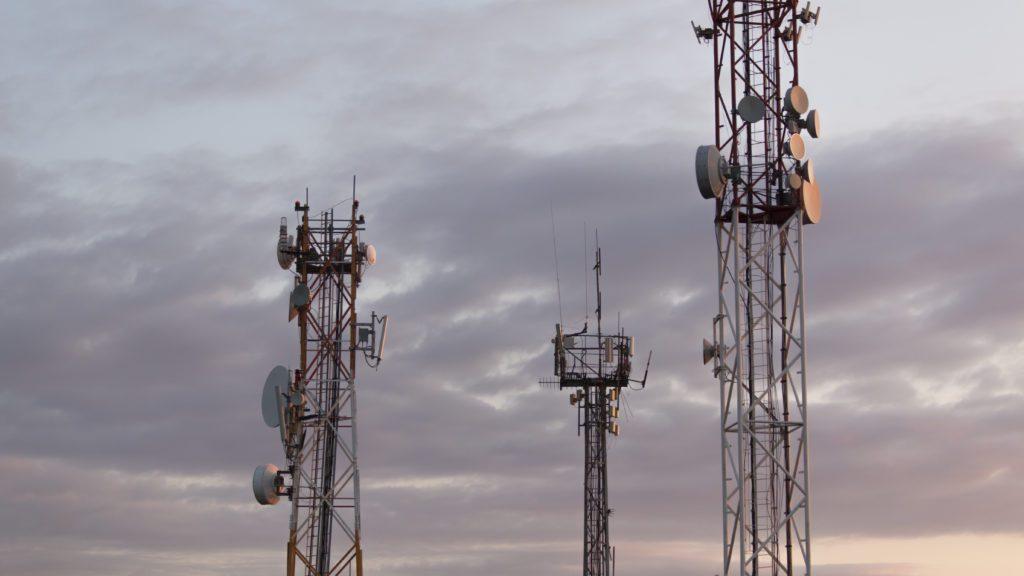 Base transceiver station for telecommunication.