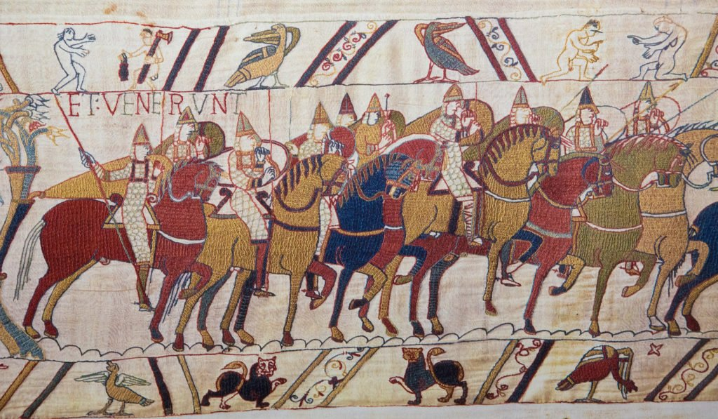 Bayeux tapestry - Norman invasion of England.