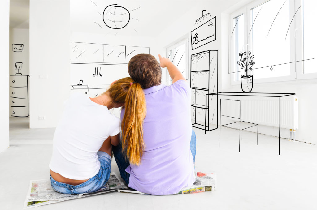 Couple planning new home