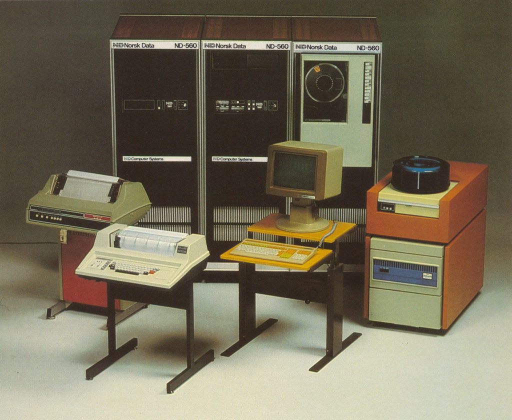 Norsk Data ND-500 computer.