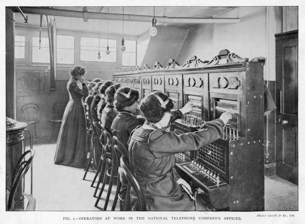 Phone Exchange - 1903.