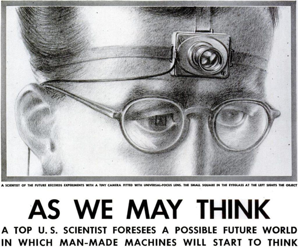Vannevar Bush Memex.