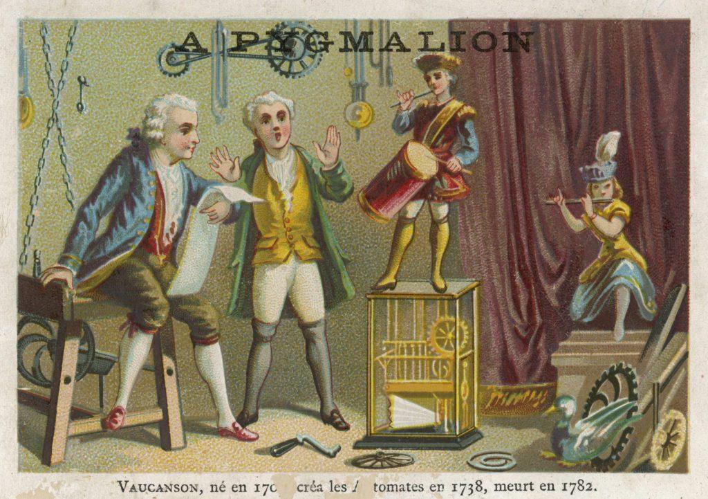 Vaucanson's 1738 automata.